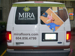 Mira Flooring Mobile Showroom