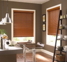 Faux Wood Blinds - Vancouver Window Coverings
